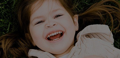Little girl with healthy smile